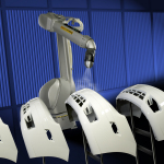 For 35 years, FANUC America has manufactured all paint robots and door openers in Rochester Hills, Michigan. (Photo: Business Wire)