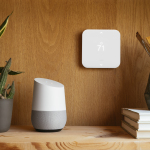 """Vivint customers can say """"Ok Google, tell Vivint I'm hot"""" to turn down the thermostat. (Photo: Business Wire)"""