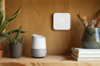 "Vivint customers can say ""Ok Google, tell Vivint I'm hot"" to turn down the thermostat. (Photo: Business Wire)"