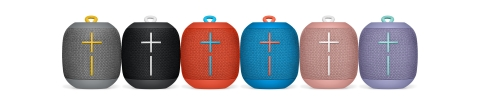 Ultimate Ears WONDERBOOM™ wireless Bluetooth speakers: 360-degree sound, waterproof and virtually indestructible. (Photo: Business Wire)