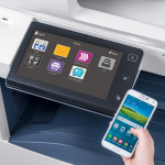 Xerox AltaLink C8035 user interface: With Xerox ConnectKey technology's flexible design, device interfaces are customizable to provide only the apps used most - including specific one-touch workflows to or from cloud or network locations. (Photo: Business Wire)