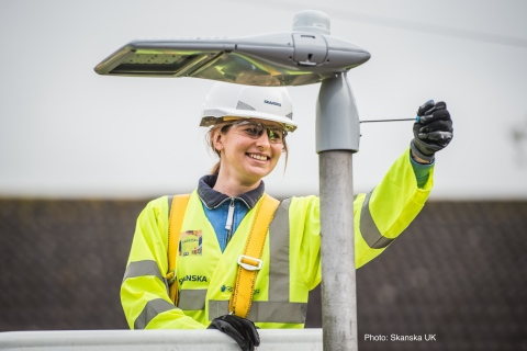 Telensa has a global footprint of over one million devices across the world, including wireless controls for one in ten of the UK's streetlights. (Photo: Business Wire)