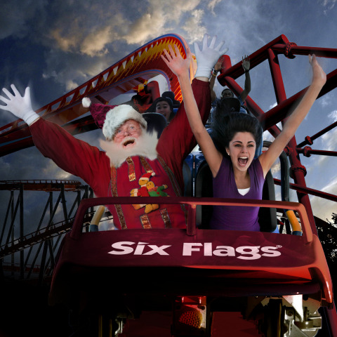 Six Flags New England Premieres HOLIDAY IN THE PARK®. Classic Holiday Festival Celebrating the Sights and Sounds of the Season Throughout November and December. (Photo: Business Wire)