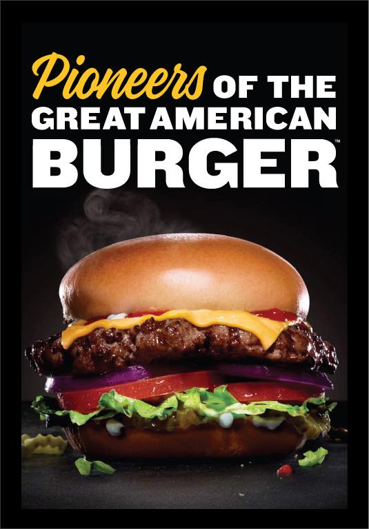 All Natural Fast Food Burger