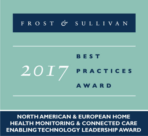 Frost & Sullivan : Best Practices Award 2017 de l'Innovation et du Leadership (Graphic: Frost & Sullivan)