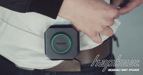 Hapbeat (Photo: Business Wire)