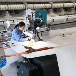Kunshan's First Forming Fabric in Joining Process (Photo: Business Wire)