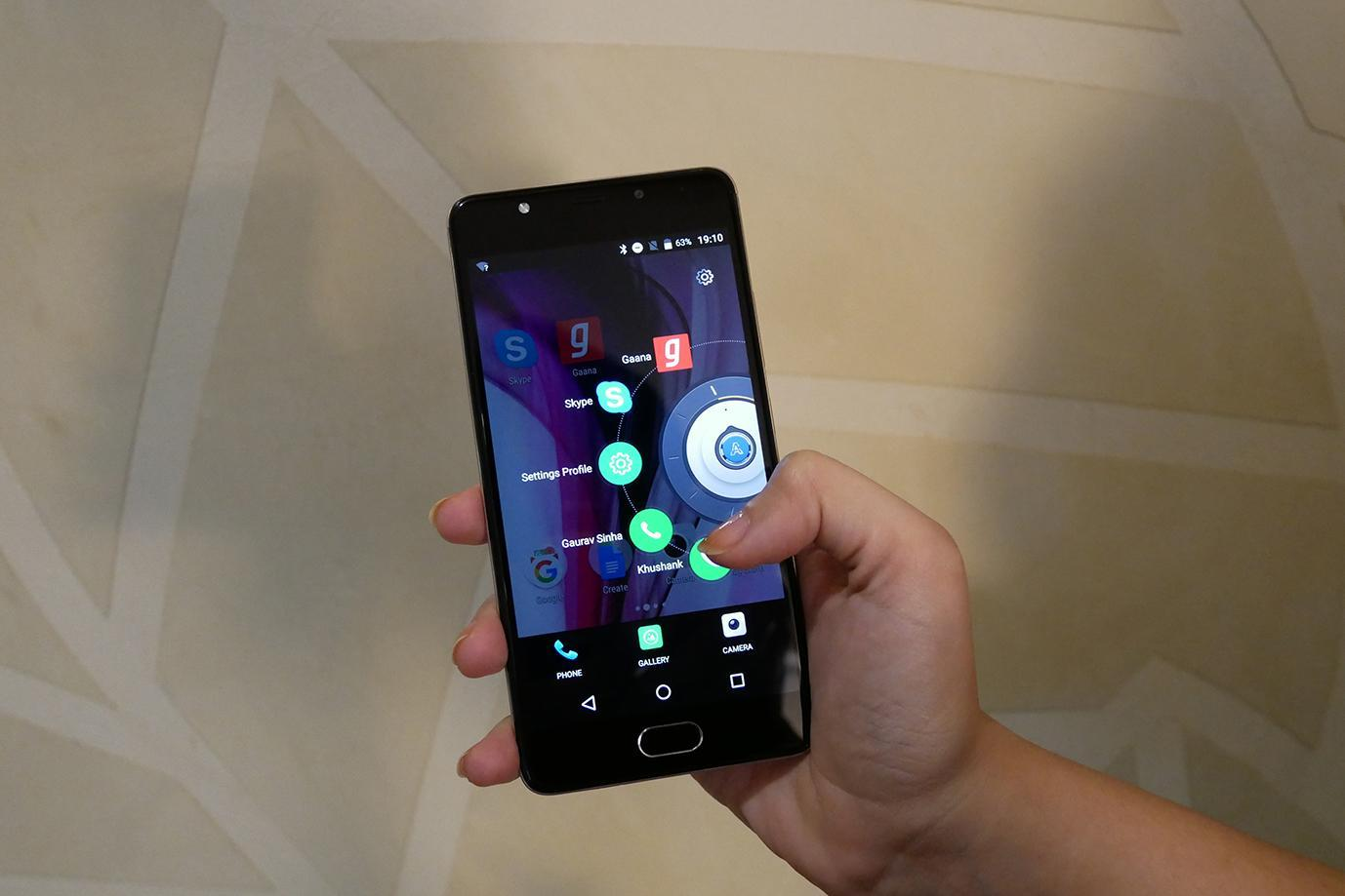 """Panasonic India developed """"Arbo"""" for Android phones for simple smartphone operation utilizing AI and a new user interface (Photo: Business Wire)"""