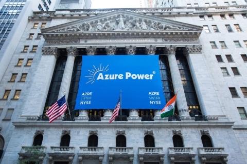 Azure Power | New York Stock Exchange (Photo: Business Wire)