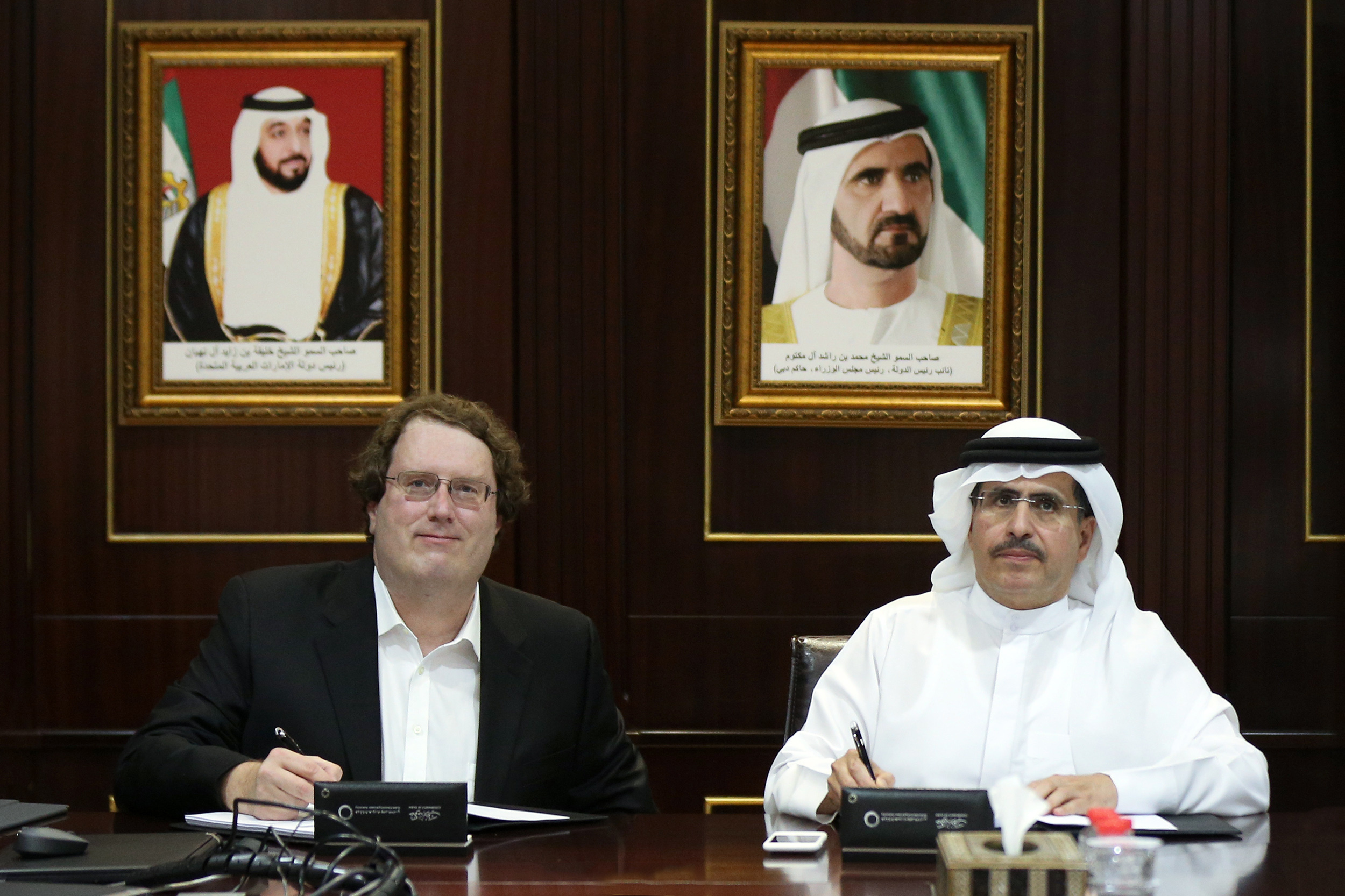 dewa signs agreement with silver spring networks to provide a