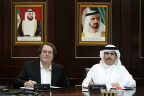 The agreement was signed by HE Saeed Mohammed Al Tayer, MD & CEO of DEWA, and Mike Bell, President and CEO of Silver Spring Networks March 29, 2017.