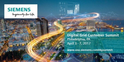 Siemens convenes industry leaders for its annual Digital Grid Summit to discuss decentralized energy and digitalization. (Photo: Business Wire)