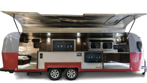 Control4 Sends Custom Airstream on the Road for Coast-to-Coast Smart Home Design Tour (Photo: Business Wire)