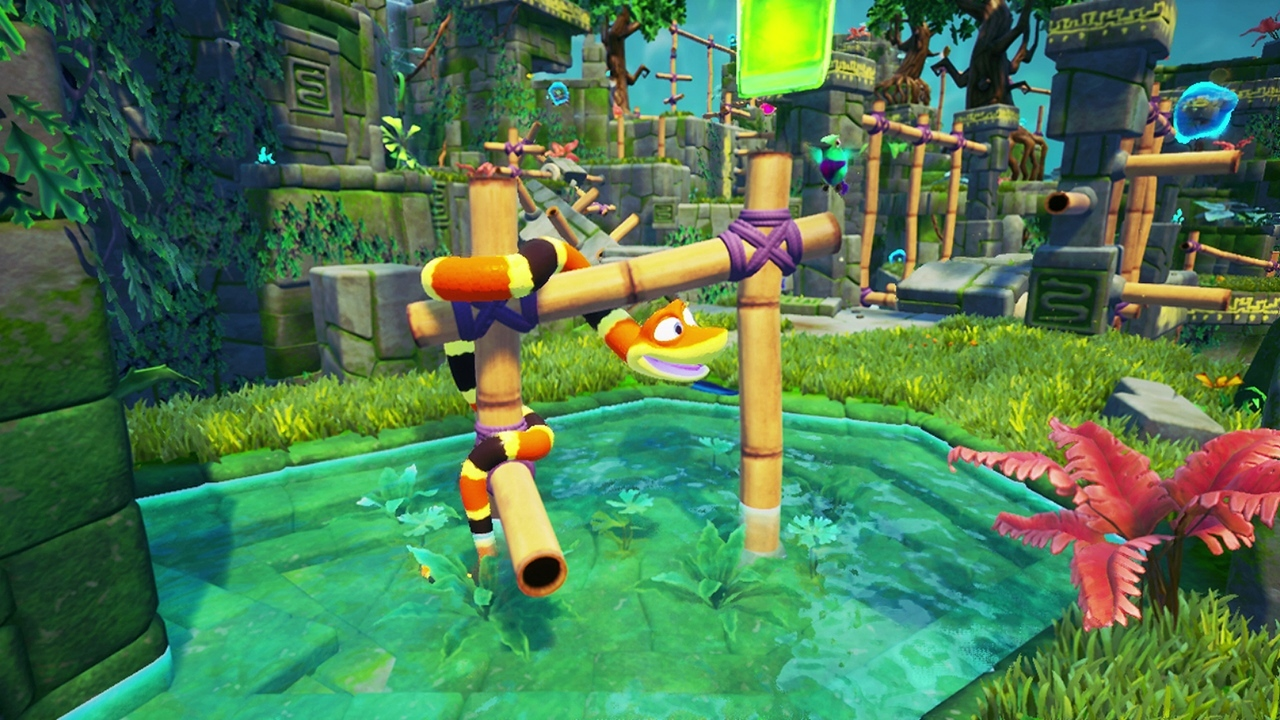 A unique physics-based puzzle platform game, Snake Pass challenges players to think like a snake as they tackle precarious puzzles as only a snake can. (Graphic: Business Wire)