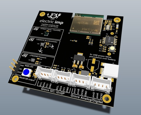 The impExplorer Kits help software developers learn about or train others on connecting to the IoT. (Photo: Business Wire)