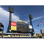The Pittsburgh Pirates install Eaton's advanced LED lighting and controls system at PNC Park, including the Ephesus Stadium Pro fixtures and a wired DMX control system. (Photo: Business Wire)