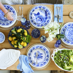 Shaped by Aerin's passion for entertaining, the assortment includes tabletop and entertaining pieces featuring a blue and white color palette inspired by traditional delft pottery. Prices start at $9.95. (Photo: Business Wire)