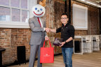 Jack Box and DoorDash CEO, Tony Xu. (Photo: Business Wire)