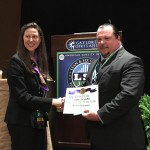 "Arrow's Lean Sigma Continuous Process Improvement Leader Thomas Van Eimeren (right) accepts the ""Innovation of the Year"" award at the Lean & Six Sigma World Conference. This is Arrow's second consecutive year winning the award. (Photo: Business Wire)"