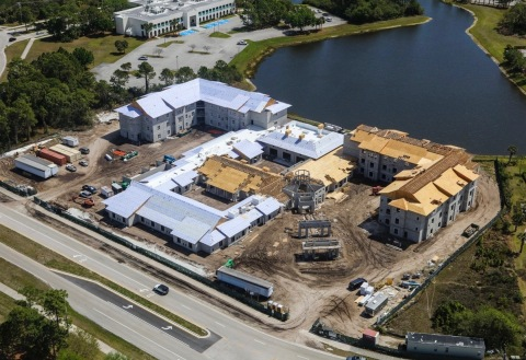 Watercrest of St. Lucie West Assisted Living and Memory Care on Schedule for 2017 Opening (Photo: Business Wire)