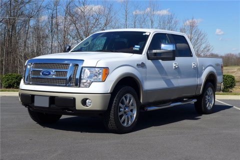 Former President George W. Bush's personal '09 Ford F-150 King Ranch Super Crew Pickup from his Crawford, Texas, ranch will raise funds for the Community Foundation of Cleveland and Bradley County, Tennessee (Photo: Business Wire)