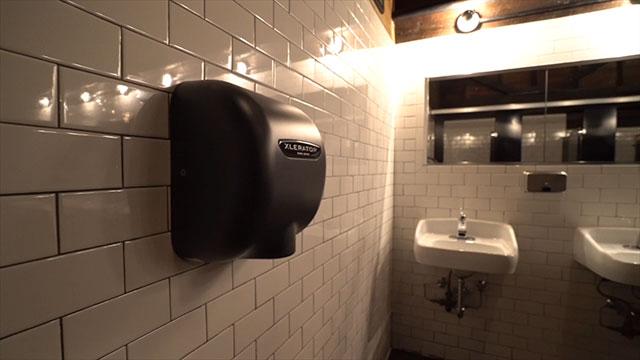 Brooklyn Bowl hand dryer installation video