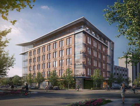 Rendering of 550 Allerton Street (Photo: Business Wire)