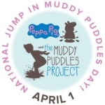 """""""National Jump in Muddy Puddles Day"""" (April 1st) Encourages Kids to Jump in Puddles and Get Messy in Honor of Those Who Can't"""