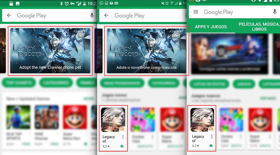 Lod Featured By Google Play Us Becomes Leader In Arpg Markets