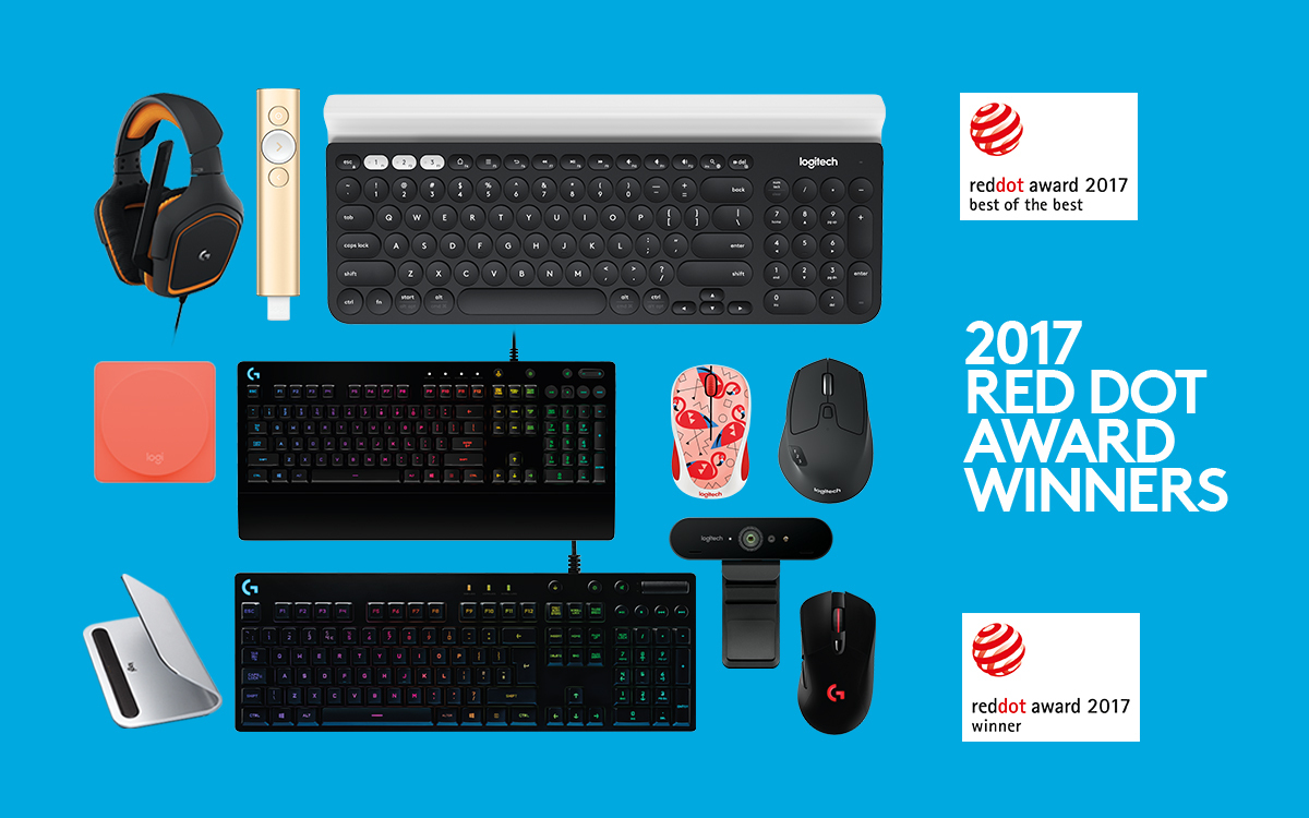 Logitech awarded nine red dot 2017 product design awards for Small house design contest winners