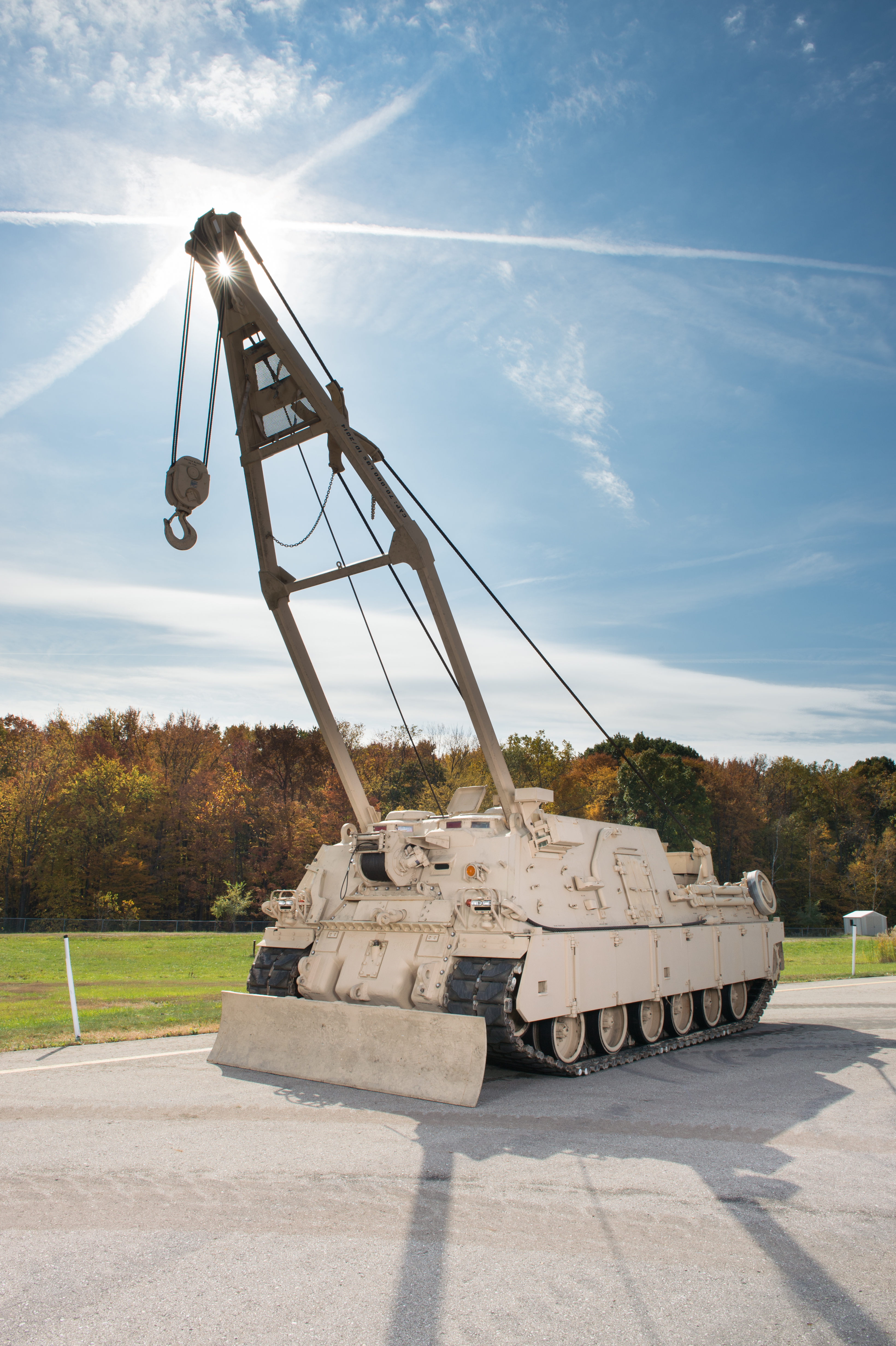 BAE Systems will perform technical support and sustainment of M88 recovery vehicles under a new contract from the U.S. Army. (Photo: BAE Systems)