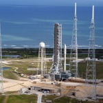 Artist conception of Orbital ATK's Next Generation Launcher on pad 39B at Cape Canaveral, Florida. (Photo: Business Wire)