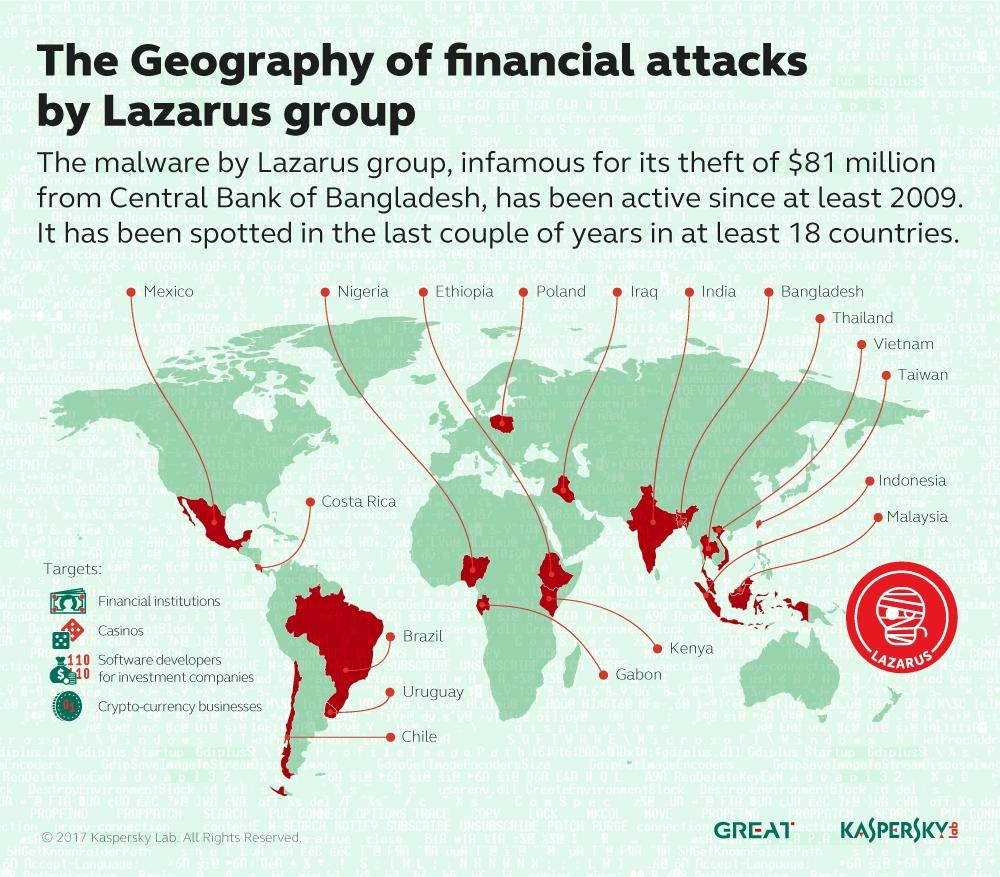 Lazarus Map (Graphic: Business Wire)
