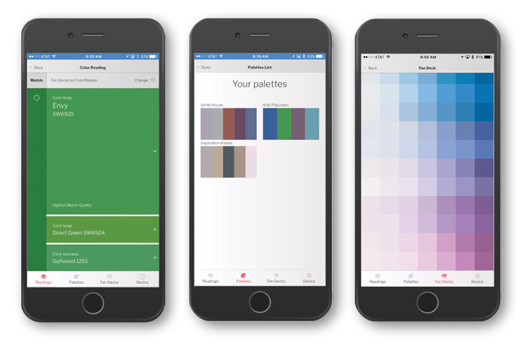 Datacolor ColorReaderPRO Mobile App(Photo: Business Wire)