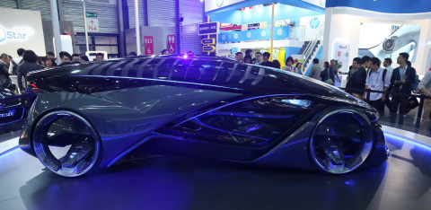 See the latest in vehicle tech at CES Asia (Photo: Business Wire)