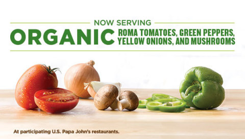 Papa John's continues to build upon its commitment to BETTER INGREDIENTS. BETTER PIZZA and having th ...