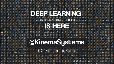 Kinema Pick brings Deep Learning 3D Vision to Industrial Robots. (Graphic: Business Wire)