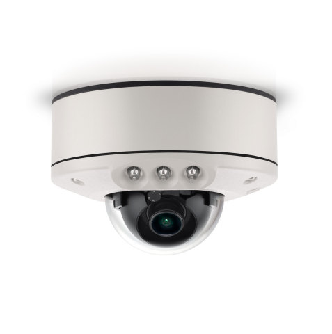 Arecont Vision MicroDome G2 with Integrated IR offers ultra-low profile surveillance, day or night. (Photo: Business Wire)