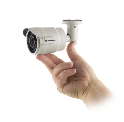 Arecont Vision ultra-compact MicroBullet professional surveillance megapixel camera (Photo: Business ...