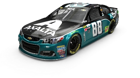 The Axalta All-Pro Teachers logo will be prominently displayed on two-time Daytona 500 champion Dale Earnhardt Jr.'s No. 88 Chevrolet SS for the Pocono 400 NASCAR Cup Series race on Sunday, June 11 at Pocono Raceway (Photo: Axalta)