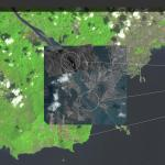 Image from BlackSky Spectra, displaying visible, SAR, and IR data over Panama City and the Miraflores Locks. (Images from Airbus Pléiades, Airbus TerraSAR-X, and USGS Landsat; some of the bans are IR, some are visible), respectively. (Photo: Business Wire)