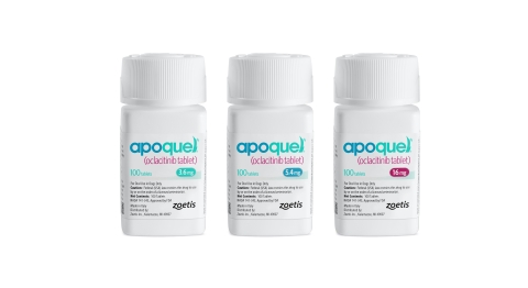 Apoquel product packaging. Photo: Zoetis.