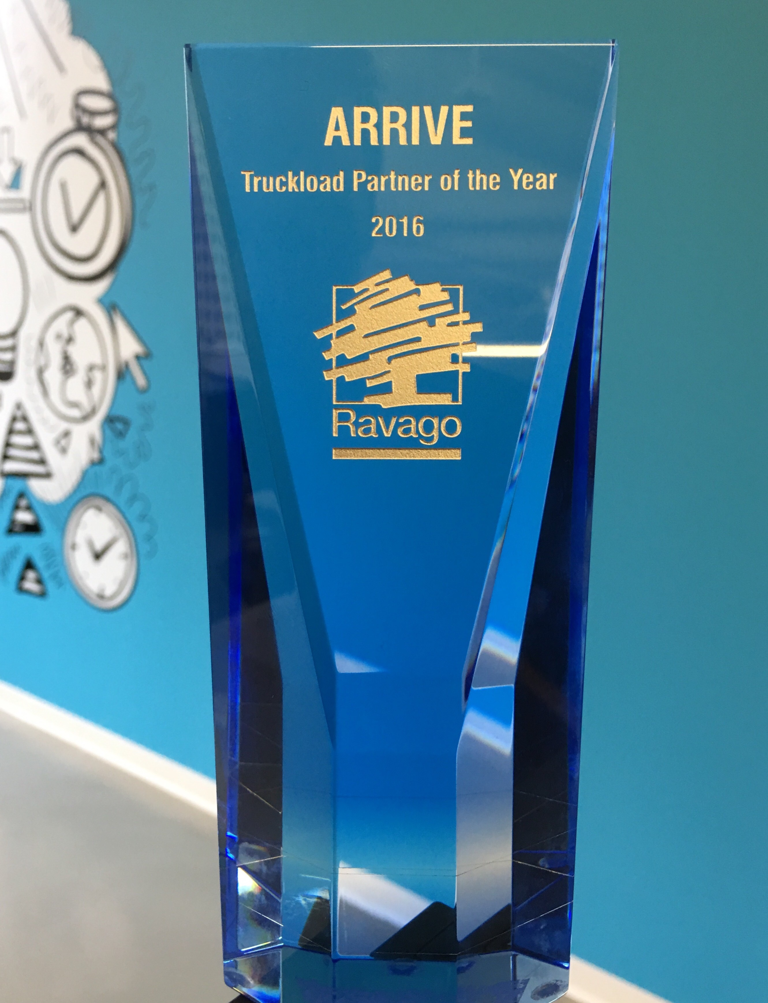 2016 Truckload Partner of the Year (Photo: Business Wire)