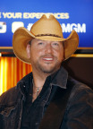 """Newly Crowned Two-Time ACM """"Entertainer of the Year,"""" Jason Aldean unveils his brand-new wax figure for Madame Tussauds Nashville. (Photo: Business Wire)"""