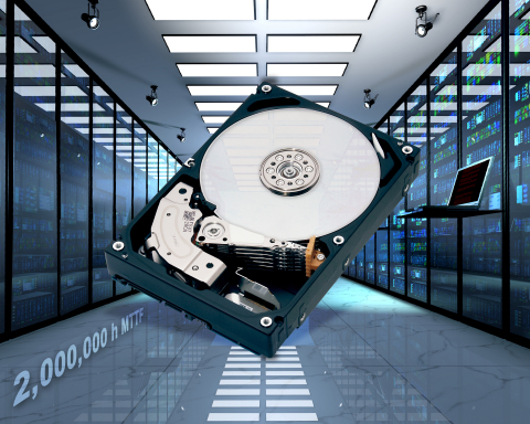 8TB MG05 HDD (Photo: Business Wire)