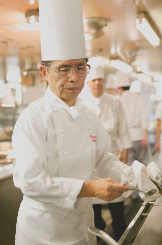 Honorary Executive Chef Midorikawa is a heavyweight in the world of French cuisine in Japan, having received many honors such as the French Republic Officier du Merite Agricole in 2006, Academie Culinaire De France Gold Medal in 2005 and 2011, and many others. (Photo: Business Wire)