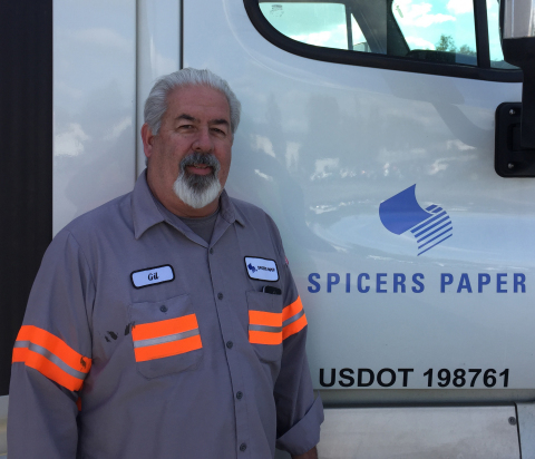 """Gilbert """"Gil"""" Gutierrez, Driver of the Year for Ryder Fleet Management Solutions. (Photo: Business Wire)"""