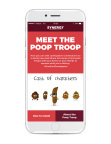 The Poop Troop Keyboard App Welcome Screen (Photo: Business Wire)