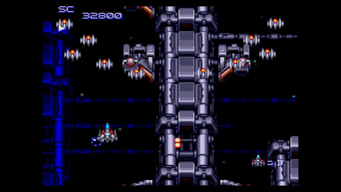 Super Star Soldier is a classic, vertically scrolling shooting game for TurboGrafx-16. The Special Attack Squad, led by the Mother Brain, has launched an all-out invasion of Earth. Take your small-scale fighter, the Neo Caesar, with its arsenal of four regular weapons and two special weapons, and send the aliens back where they belong. (Photo: Business Wire)