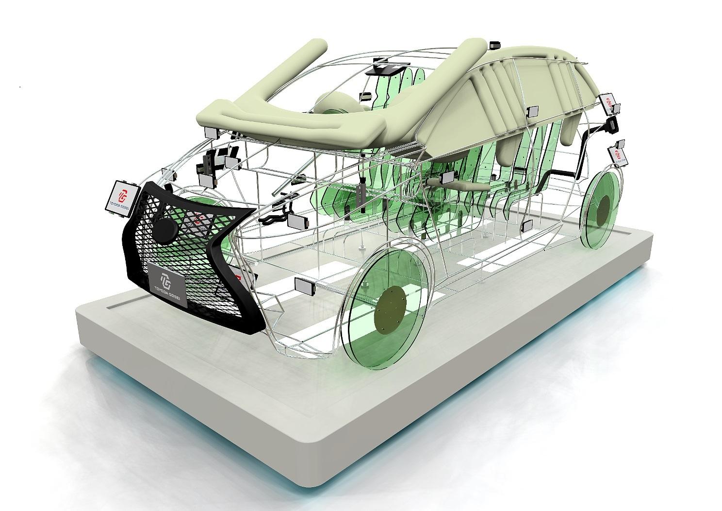 展示品-安全·环境钢铁模型(照片:美国商业资讯)